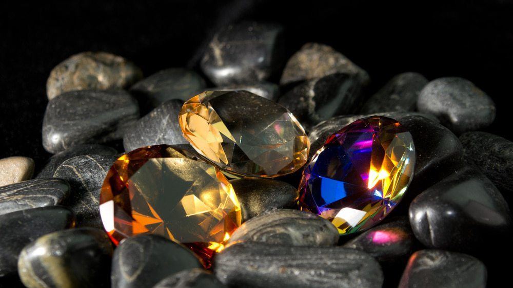 The beauty of gemstones