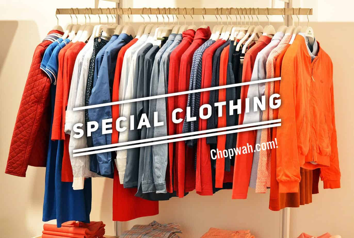 Chopwa - Special clothing